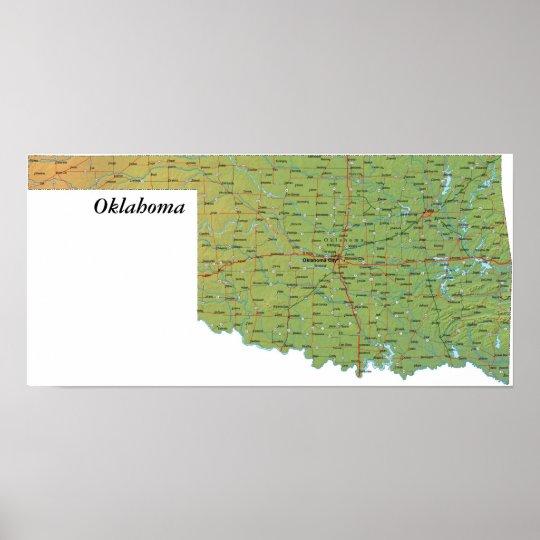 Oklahoma Print
