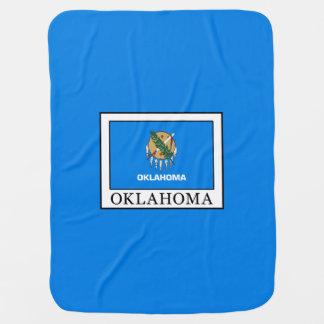 Oklahoma Receiving Blanket