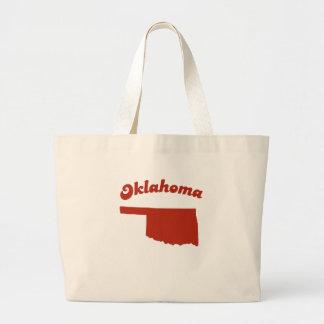 OKLAHOMA Red State Tote Bag