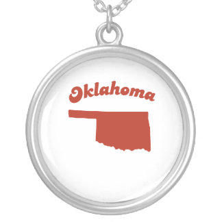 OKLAHOMA Red State Pendants