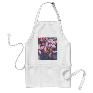Oklahoma Redbud and Honeybee Standard Apron