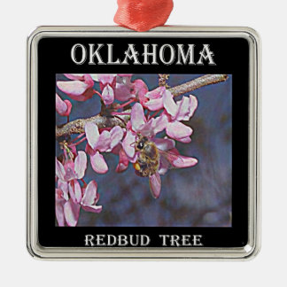 Oklahoma Redbud Christmas Ornament