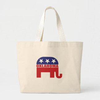 Oklahoma Republican Elephant Bag