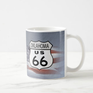 Oklahoma Route 66 Coffee Mug