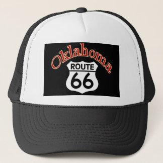 Oklahoma Route 66 Shield Trucker Hat