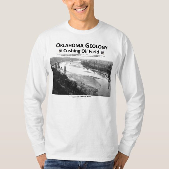 Oklahoma's Oil Giant - Cushing Field T-Shirt