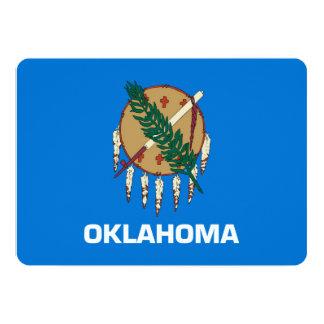 Oklahoma State Flag Design 13 Cm X 18 Cm Invitation Card