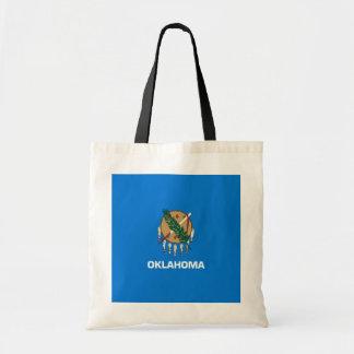 Oklahoma State Flag Design Budget Tote Bag