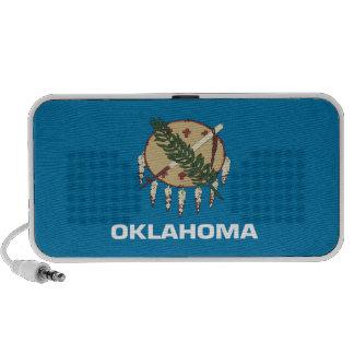Oklahoma State Flag Notebook Speakers