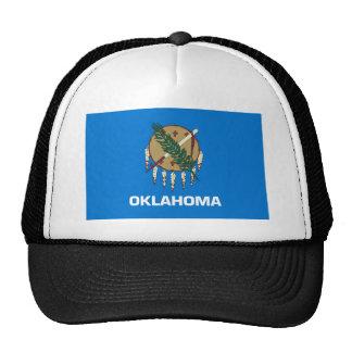 oklahoma state flag united america republic symbol cap
