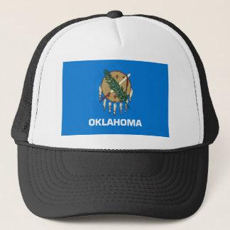 oklahoma state flag united america republic symbol trucker hat
