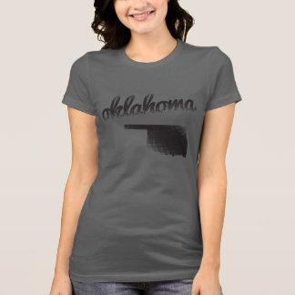 Oklahoma State on Ladies Grey Tee Shirts