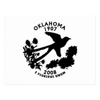 Oklahoma State Quarter Postcard