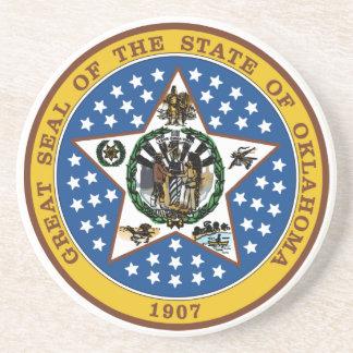 Oklahoma State Seal Coaster