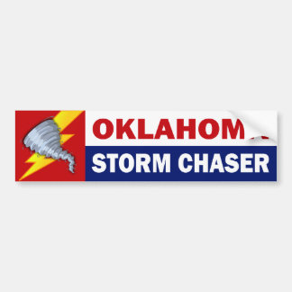 Oklahoma Storm Chaser Bumper Sticker