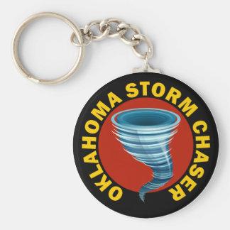 Oklahoma Storm Chaser Key Ring