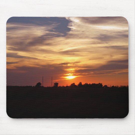Oklahoma Sunset 2 Mouse Mat