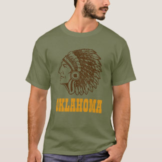 OKLAHOMA T-shirt from the J.X.G U.S.A.collection