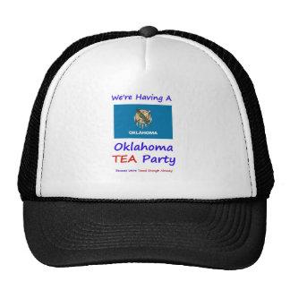 Oklahoma TEA Party - We re Taxed Enough Already Trucker Hat