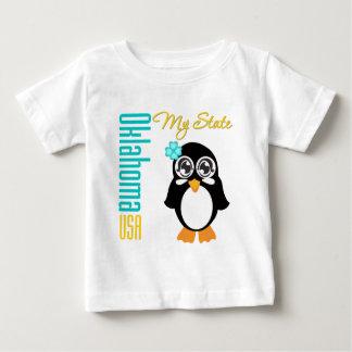 Oklahoma USA Penguin T-shirt