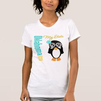 Oklahoma USA Penguin Tshirt