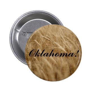 Oklahoma! Wavin' Wheat 6 Cm Round Badge