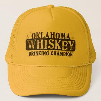 Oklahoma Whiskey Drinking Champion Trucker Hat