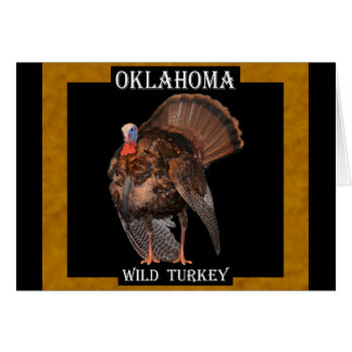 Oklahoma Wild Turkey (AL, MA, OK, SC) Card