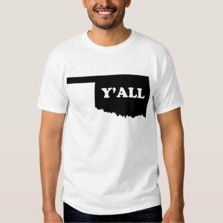 Oklahoma Yall T-shirts