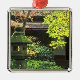 Okochi Sanso, Arashiyama, Kyoto, Japan 4 Silver-Colored Square Decoration
