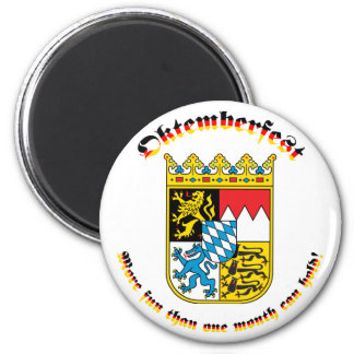 Oktemberfest with Bavarian Arms Magnet