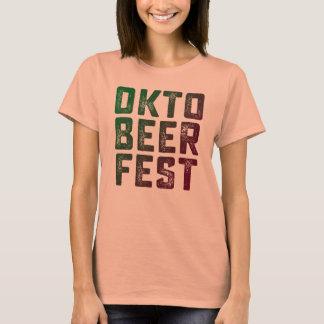 Okto Beer Fest Funnt oktober Fest T Shirt