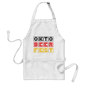Oktobeerfest: Oktoberfest German Beer Festival Standard Apron