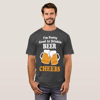 Oktober Fest Pretty Good At Drinking Beer T Shirt