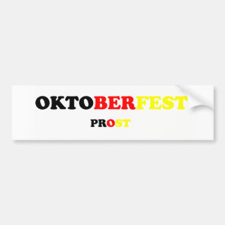 Oktober Fest Prost Bumper Stickers