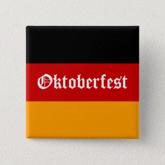 Oktoberfest 15 Cm Square Badge