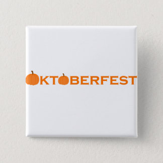 Oktoberfest 15 Cm Square Badge