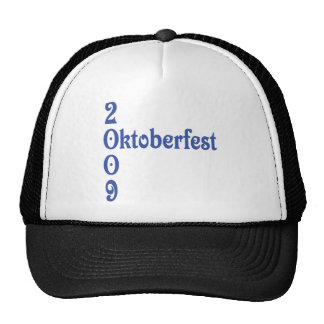 oktoberfest 2009 trucker hat