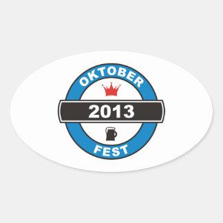 Oktoberfest 2013 sticker