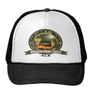 Oktoberfest 2014 Harvest Moon Ale Hats