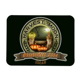 Oktoberfest 2014 Harvest Moon Ale Label Magnet