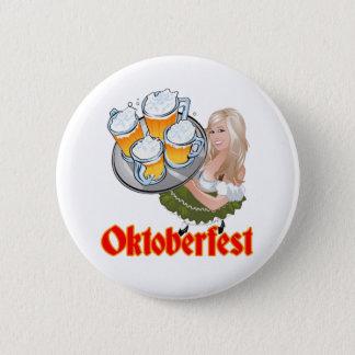 Oktoberfest 6 Cm Round Badge