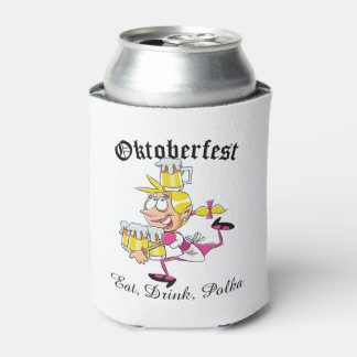 Oktoberfest Barmaid Can Cooler