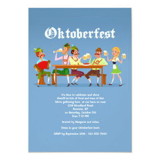 Oktoberfest Bash Invitation