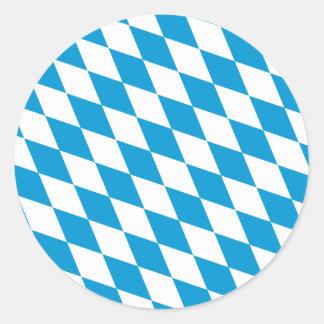 Oktoberfest Bayern Colors Round Sticker