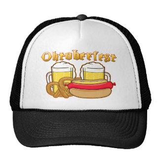 Oktoberfest Beer Bratwurst Pretzel Cap