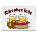 Oktoberfest Beer Cards