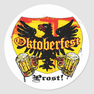 Oktoberfest Beer Drinking Team Shirts and Gifts Stickers
