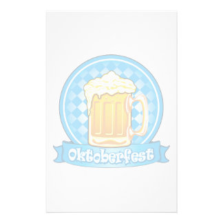 Oktoberfest Beer Label, Detailed Stationery