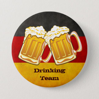 Oktoberfest Beer Party - Germany Drinking Team 7.5 Cm Round Badge
